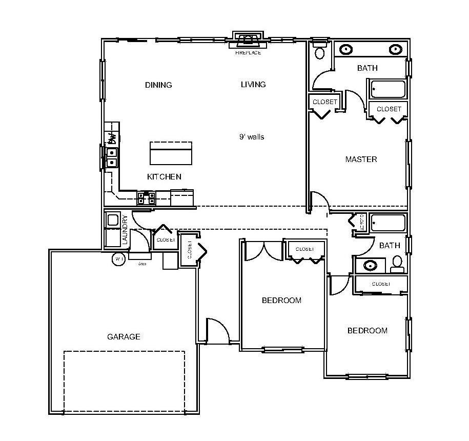Midwood floorplan